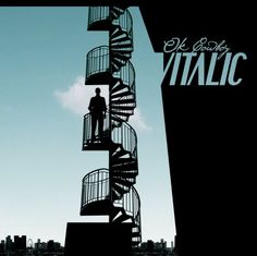 P22 Cezanne font on OK Cowboy album by Vitalic