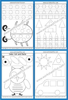 Shape Tracing Worksheets, Tracing Shapes, Number Tracing, Tracing Letters, Free Printable Worksheets, Free Printables, Tracing Pictures, Kindergarten Math Worksheets, Busy Bee