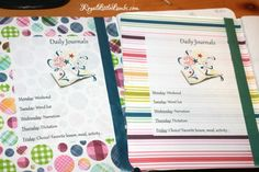 Notebooking and Journaling