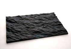 Water you can have on your table top. Great art piece.  (Dark Water | Sophia Collier)