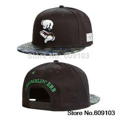 b10f60294bf9b 1pcs lot Free Shipping Hot Sale 2014 New Arrival CAYLER   SONS Crumblin  Cap-black   green mc Snapback hat  10.50