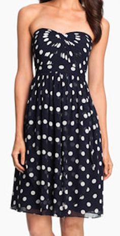 convertible polka dot chiffon dress  http://rstyle.me/n/fqnvxpdpe