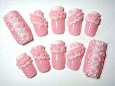 Deco Nails - Sweet Loli Style