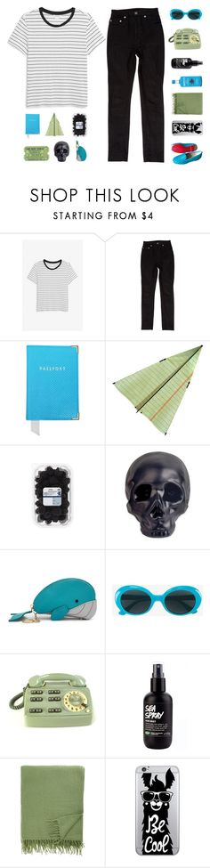 """""""♡ he came along and showed me how to let go"""" by deli-lemonade ❤ liked on Polyvore featuring Monki, Yves Saint Laurent, Aspinal of London, Dot & Bo, Relic, CO, Armand Diradourian, OTM Essentials, Christian Louboutin and r1krc"""
