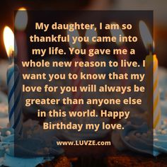 Are you looking for the best birthday wishes for your daughter? Here are 100 sweet and thoughtful birthday messages for daughters. 1st Birthday Quotes, Birthday Greetings For Daughter, Birthday Wishes For Mother, Beautiful Birthday Wishes, Birthday Messages, Happy Birthday Daughter Quotes, Message To Daughter, Birthday Message For Daughter, Birthday Wishes Daughter