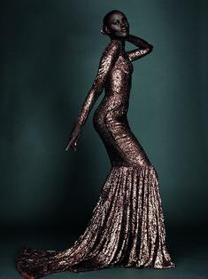 Grace Bol, photo by Alexi Lubomirski - diverse beauty