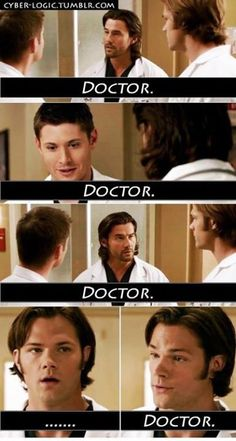 i really want to walk into a hospital and witness all the doctors saying this to each other that would be awesome lol