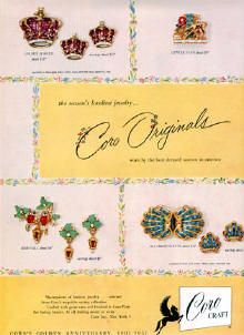 """CoroCraft ad, """"Coro Originals"""", date unknown. If you know the date, please contact me."""