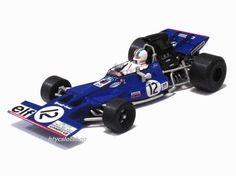 Tyrrell Ford 002 #12 GP Francia 1971 François Cevert by Superslot Legendas (Scalextric UK)