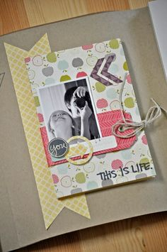 Mini Albums Scrap, Scrapbook Albums, Copic, Project Life, Arts And Crafts, Frame, Projects, Cards, Inspiration