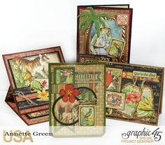 Annette's Creative Journey: New Safari Adventure Card Tutorial is Up! Plus some…