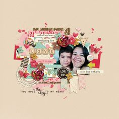 Heart And Soul | Papers by Digital Scrapbook Ingredients