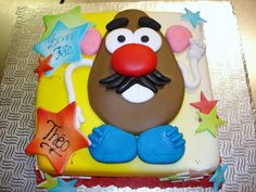 I think we're going to have a Toy Story birthday party for Bobo. Maybe I'll make a Mr Potato head cake!