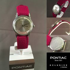 byPontiac, vintage watch