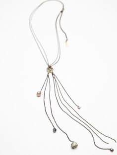Free People Delicate Fringe Lariat at Free People Clothing Boutique