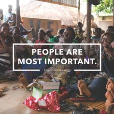 People are the most important.