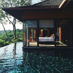 Waking up here! Few things can beat waking up at  beautiful resort in Thailand. Would you like to this here? Tag someone that would love this! --- Photo by Unknown instagram.com/themanliness_official
