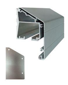 Cavity Sliders TSWMB1NA0240 24 Foot Heavy Duty Aluminum Wall Mount Door  Track Clear Anodized Sliding Door