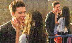 Brooklyn Beckham's girlfriend Sonia Ben Ammar caresses his face