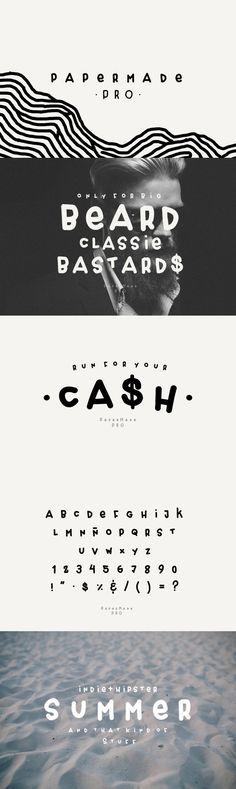 Papermade PRO - Desktop Font & WebFont - YouWorkForThem