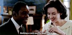 """""""Nothing a cold martini won't cure."""""""