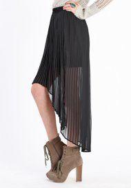 Midnight Oil Assymetrical Skirt. $38. I happen to love the mullet dress