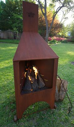 The Chimney Box is perfect on a cool spring afternoon...