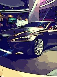 2013 Lexus car Lexus Cars, Cartoon Art, Vehicles, Cars, Vehicle, Comic Art