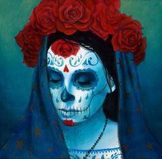 "Sylvia Ji - ""Catrina Sueño Azul"" 1st Edition - 2016"