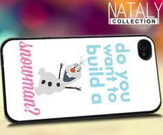 Olaf quote frozen  iPhone 4/4s/5 Case  by NatalyCollections, $15.00