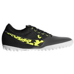 The Nike Elastico Pro III Mens Astro Turf Trainer is made for the small-sided competition for fast play and comfort. A Soft, synthetic leather covers the foot with a split rear for breathability. Astro Turf Trainers, Nike Football Boots, Leather Cover, Nike Free, Under Armour, Sneakers Nike, Adidas, Sports, Men