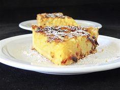 Tarte aux pommes râpées, vanille et citron