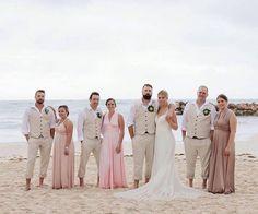 Weddings by Eph Apparel ( Tan Suit Wedding, Wedding Vest, Wedding Matches, Destination Wedding Inspiration, Destination Weddings, Linen Suit, Made In Heaven, Bridesmaid Dresses, Wedding Dresses