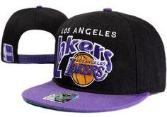 NBA LA Lakers Snapback Hats Caps Black 47 Brand 2502|only US$8.90