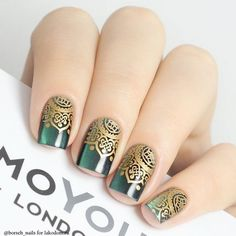 Romantic Lace Nail Art Designs For You - Styles Art Lace Nail Design, Lace Nail Art, Lace Nails, Nails Design, Nail Stamping Designs, Stamping Nail Art, Nail Art Designs, Moyou Stamping, Hair And Nails
