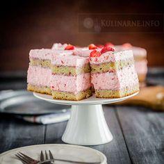 Polish Recipes, Polish Food, Tasty, Yummy Food, Vanilla Cake, Sweet Recipes, Baking Recipes, Cereal, Cheesecake