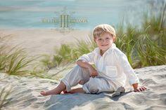 Beach portrait by William Branson III.