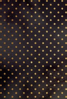 Gold polka dots iphone wallpaper