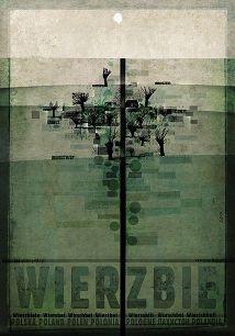 Wierzbie, plakat z serii Polska, Ryszard Kaja