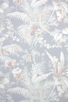This roll of wallpaper is an authentic, old stock roll from the It is a full double roll, which will cover approximately 50 sq. French Wallpaper, Gothic Wallpaper, Textured Wallpaper, New Wallpaper, Textured Walls, Phone Backgrounds, Wallpaper Backgrounds, Floral Bedroom, Blue Bedroom