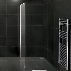 Grey slate limestone wetroom shower for the home for Slate wet room
