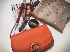 🔥Today's essentials 🔥 Kabelka Liu Jo 🍊#liujo mikinka Patrizia Pepe 🍦 #patriziapepe #pearls #fashion #spring #orange #ootd #bespecial