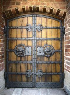 Løgumkloster Kirke, Denmark #Door #Doors