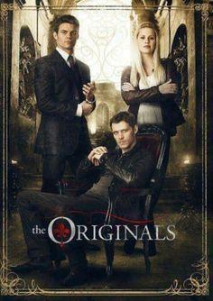 1º pôster dos Irmãos Originais!^^ Já adoooro a nova série vampiresca; rsrsrs... ;-)