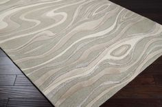 Surya Rugs, Modern Classics CAN-1927 100% New Zealand Wool Hand Tufted Made in India