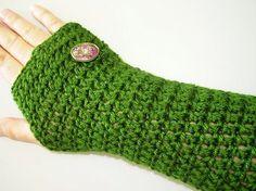 Crochet Pattern Fingerless Gloves PDF Pattern Texting Gloves Fingerless Mittens Okay to Sell Finished Item