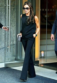 Victoria Beckham's incredible styling trick that helps her look taller. Want to know what it is?