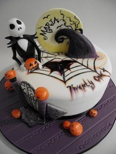 Jack Skellington  Cake by CakeRise
