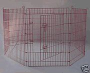Outdoor Dog Pens - BestPet Metal Wire Playpen 30 Inch Tall Pink wcarry case >>> You can get more details by clicking on the image. (This is an Amazon affiliate link)