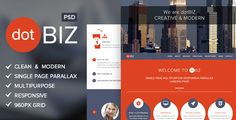 Review dotBIZ | Multi-Purpose Parallax PSD Landing Pageonline after you search a lot for where to buy